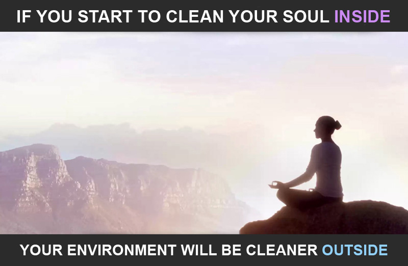 CLEAN YOURSELF, AND THE ALL WORLD WILL BE CLEANER!
